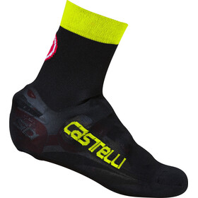 Castelli Belgian 5 Booties Unisex black/yellow fluo